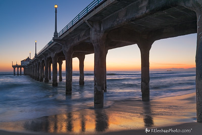 Manhattan Beach Sunset IV