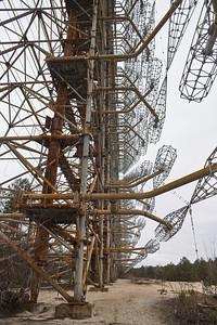 Ukraine - Chernobyl - Pripyat - Duga radar