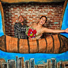 Kelly & Jeremy's Airship Photo Booth<br /> Mile High Station, Denver<br /> <br /> Custom made backdrops