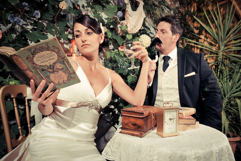 Vintage Style Wedding Photo Booth<br /> Ramsgate, England