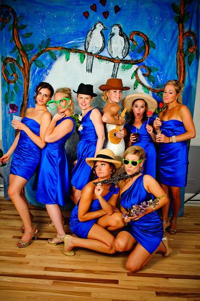 Love Birds<br /> <br /> Jenni & Paul's Wedding<br /> Denver, CO<br /> <br /> Hand painted, custom made Photo Booths