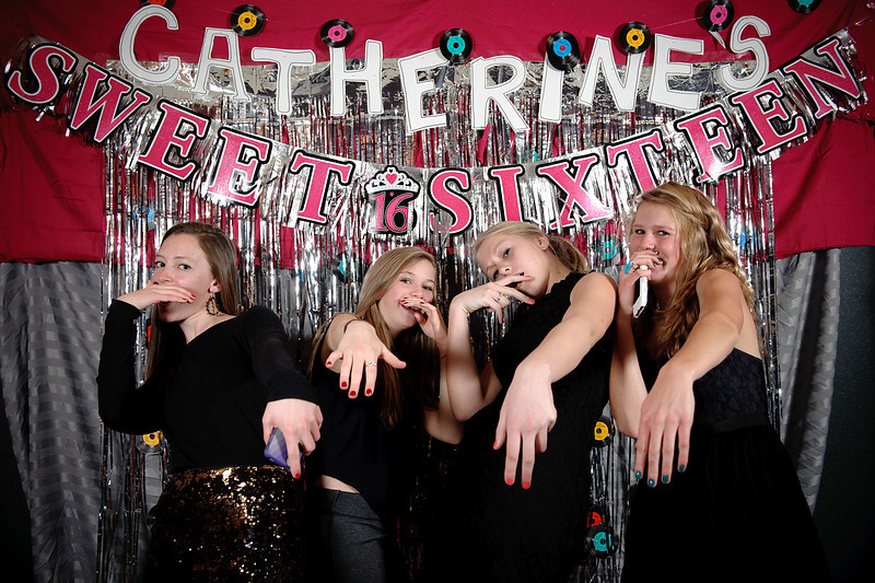 Catherine's Sweet 16 Photo Booth<br /> Glenmoor Country Club<br /> Denver, Colorado