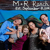 Miranda & Robert's Colorado Ranch<br /> Denver, Colorado<br /> <br /> Custom, hand painted photo booths<br /> Denver, Colorado & Destination Weddings