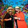 Live in Tandem<br /> Laura & Lonnie's Wedding<br /> Keystone, Colorado<br /> <br /> Hand painted and custom made Photo Booth backdrop