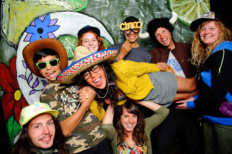 Cinco de Mayo Party<br /> Rio Grande Mexican Restaurant<br /> Denver, Colorado<br /> Boulder, Colorado<br /> <br /> Hand painted and custom made Photo Booth backdrop