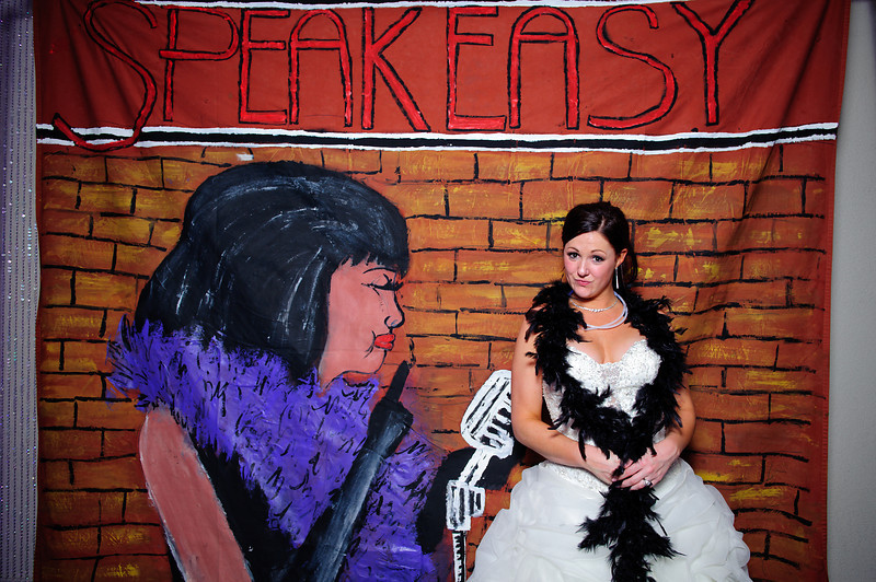 Speakeasy!<br /> <br /> Kasey & Steve's Wedding