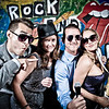 Jamie & Matt's Wedding<br /> Rock and Roll Photo Booth<br /> Denver, Colorado