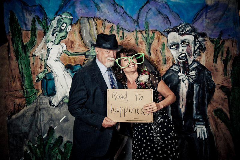 Out of this World Photo Booth<br /> Denver, Colorado<br /> <br /> Hand painted and custom made Photo Booth backdrop