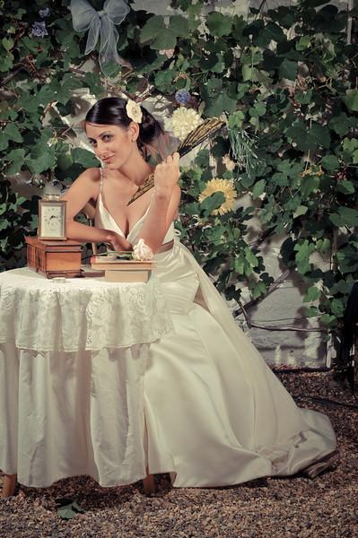 Vintage Style Wedding Photo Booth