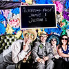 Vicky & Jamie's Paper Flower Guest Book Photo Booth<br /> Birchington, England