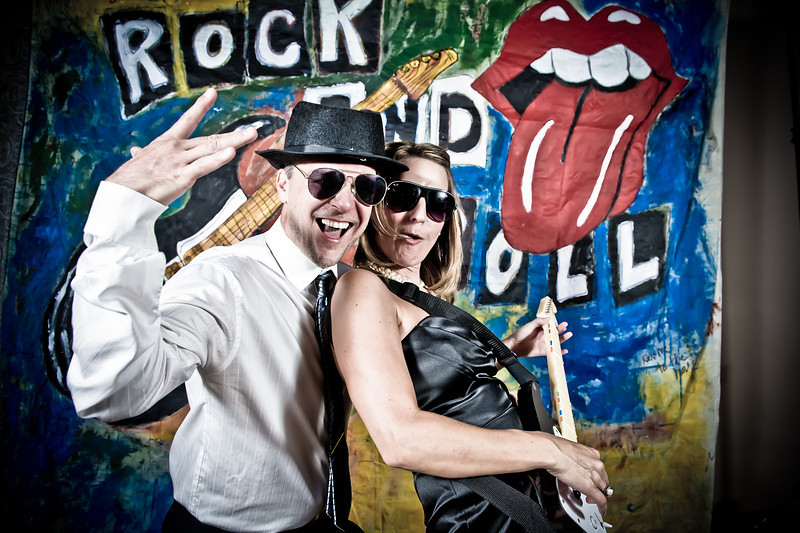 Jamie & Matt's Wedding<br /> Rock and Roll Photo Booth<br /> Denver, Colorado
