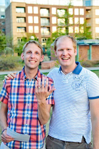 Tyler & Kyle's Romantic Proposal<br /> Denver, Colorado