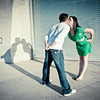Kasey & Steve Rock Their Water Front Shoot<br /> Tempe, AZ