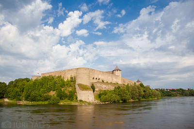 By the Narva river