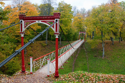 Viljandi Suspension Bridge.