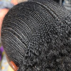 Coiffure de femme éthiopienne