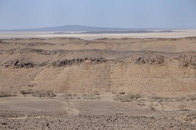 Paysages du Nord-est : pays Afar