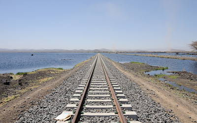 Voie ferrée vers Djibouti