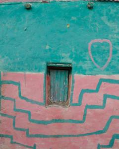Mur de maison d'Afar du village d'Ahmed-Ela