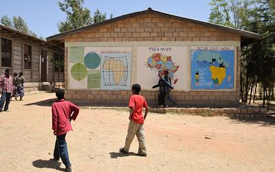 """""""Murs peints"""" de l'école"""