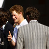 """HRH Prince Henry of Wales returned to Governors Island, New York, to play in the third annual Veuve Clicquot Polo Classic. Prince Harry's team Sentebale played world-class polo champion Nacho Figueras' Black Watch Team, who is also a model for Ralph Lauren. <br /> <br /> The event benefits American Friends of Sentebale, the U.S. arm of the global charity co-founded by Harry with Prince Seeiso of Lesotho. The charity supports impoverished children of Lesotho in southern Africa.<br />  <br /> """"Prince Seeiso and I both lost our mothers when we were very young,"""" Harry said in brief remarks before the match. """"We set up Sentebale in their memory, and because my mother loved this city, it makes this occasion all the more poignant for me.""""<br /> <br />  His team, named after the charity, proceeded to defeat the opposing Black Watch team 6-5. May 30, 2009.<br /> <br /> (Left) Nacho Figueras<br /> (Right) Prince Henry of Wales"""