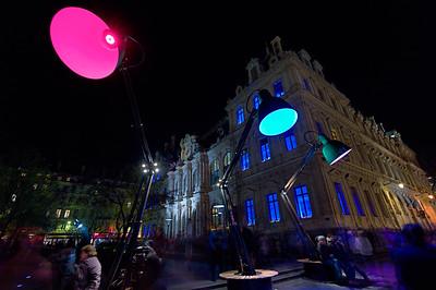 """""""Lampounettes"""" rue de la République"""