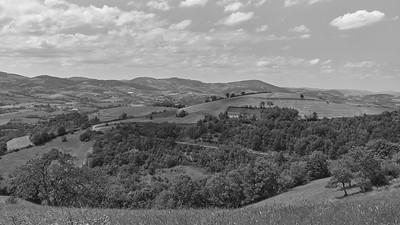 20200531 Courzieu La Brévenne randonnée (Filtre vert) (Rue du Bourg/Courzieu/Auvergne-Rhône-Alpes/France - N45°44.645' E4°34.738' - Altitude : 540m)
