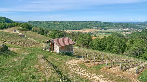 """Poncin et sa région - Randonnée - 46°4'59"""" N 5°26'25"""" E - 422,6m (Saint-Alban - Auvergne-Rhône-Alpes)"""