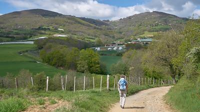 "Mornant randonnée avril 2017 -  45°37'50"" N 4°37'55"" E - 494,2m (Chausson - Auvergne-Rhône-Alpes)"