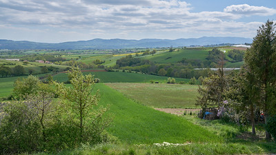 "Mornant randonnée avril 2017 -  45°37'2"" N 4°38'8"" E - 493,4m (Saint-Sorlin - Auvergne-Rhône-Alpes)"