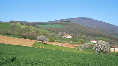 """Savigny et sa région. Randonnée - 45°48'23"""" N 4°33'41"""" E - 395,2m (Savigny - Auvergne-Rhône-Alpes)"""