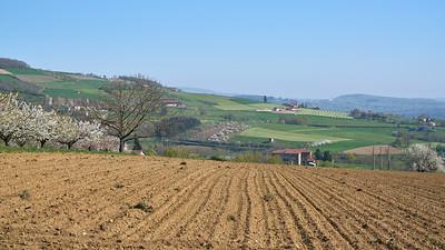 """Savigny et sa région. Randonnée - 45°48'20"""" N 4°33'28"""" E - 415,9m (Savigny - Auvergne-Rhône-Alpes)"""