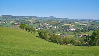 "Courzieu La Brevenne - 45°44'19"" N 4°32'57"" E - 452,2m (Courzieu - Auvergne-Rhône-Alpes)"