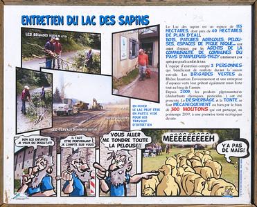 """Cublize / Ronno randonnée avril 2017 - 46°0'27"""" N 4°21'49"""" E - 436,9m (Cublize - Auvergne-Rhône-Alpes)"""