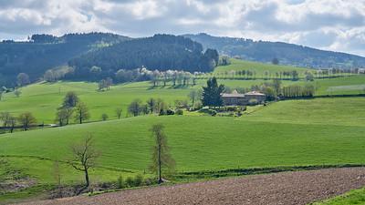 """Cublize / Ronno randonnée avril 2017 - 45°59'53"""" N 4°22'33"""" E - 511,4m (Ronno - Auvergne-Rhône-Alpes)"""