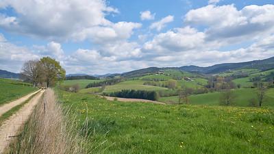 """Cublize / Ronno randonnée avril 2017 - 45°59'44"""" N 4°22'31"""" E - 525,9m (Ronno - Auvergne-Rhône-Alpes)"""