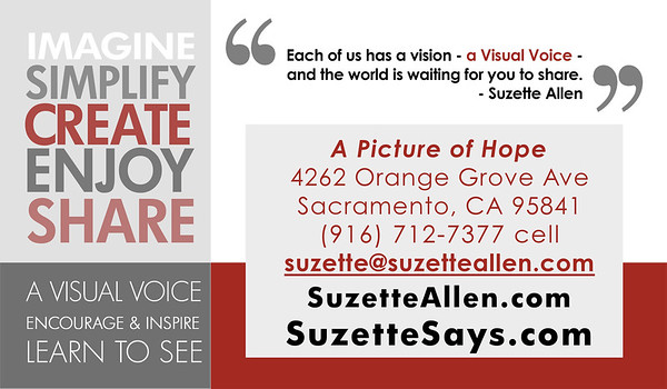 SuzSez BIZ CARD back