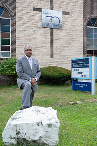 Aug. 25- Elder Dale I. Shaw Pastor of Bethesda Apostolic Chuch of New Britain celebrates the 70th church anniversary starting Friday evening. (Ray Shaw Special to The Press)