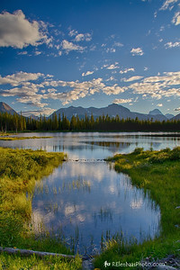 Spray Lakes Sunset I