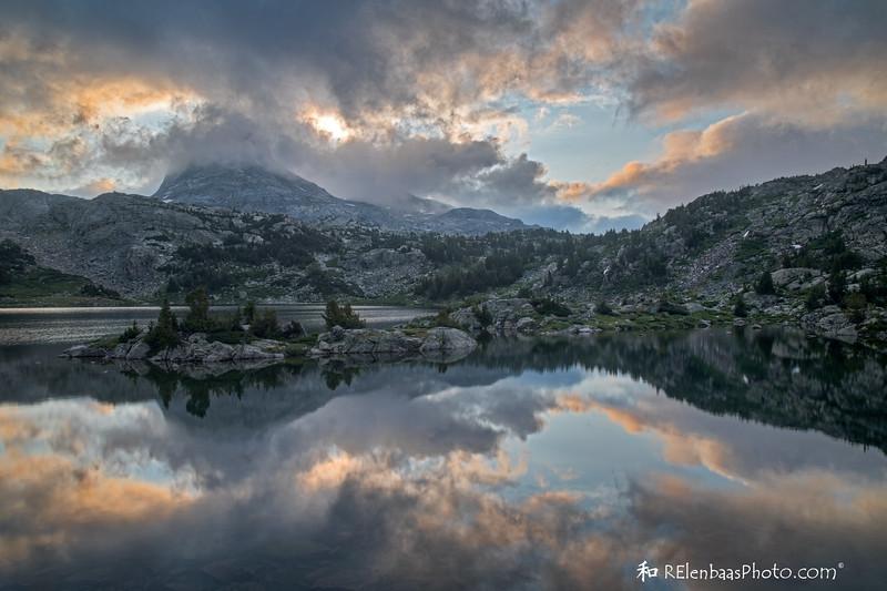 Island Lake Sunrise IV