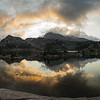 Island Lake Sunrise Panorama II