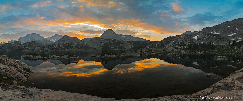 Island Lake Sunrise Panorama I