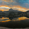 Island Lake Sunrise Panorama I