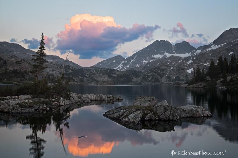 Island Lake Sunset