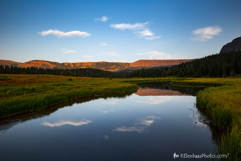 Causeway Lake Meadow Sunset I