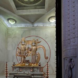 Temple de Lakshmi-Narayan dédié à Vishnou (Narayan) le conservateur et son épouse Lakshmi, déesse de la richesse à Jaipur.