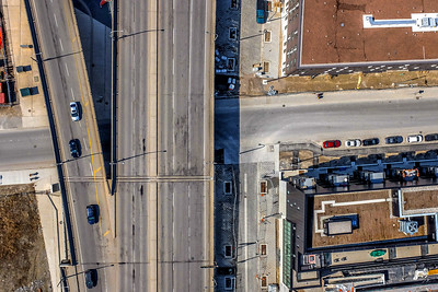 Aerial photos of the PanAm site by Spencer Wynn. Photos shot from a camera lofted by a 7' helium balloon.  PHOTOGRAPHY BY SPENCER WYNN