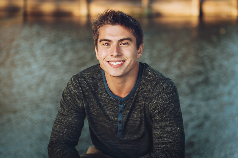 Gage, Senior Photography, Oak Grove Park, Northern California