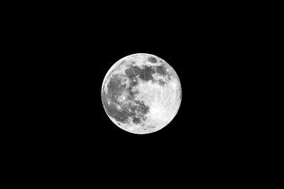 Full Moon, British Columbia, Canada