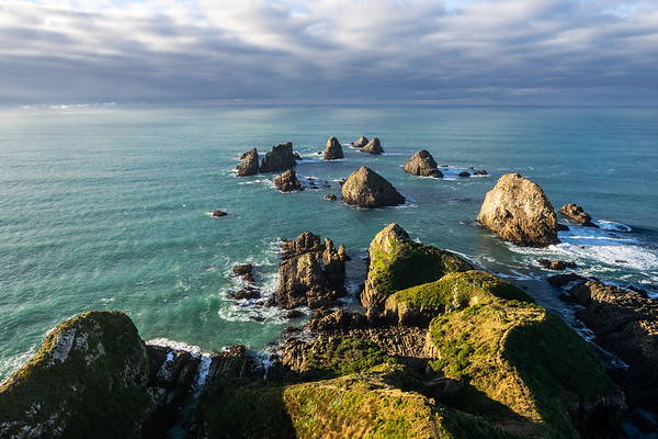 Nugget Point, Otago Peninsula, South Island, New Zealand